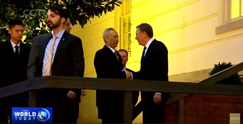 川普和刘鹤正式签署美中第一阶段贸易协议